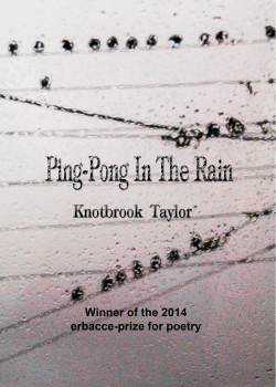 Ping-Pong in the Rain